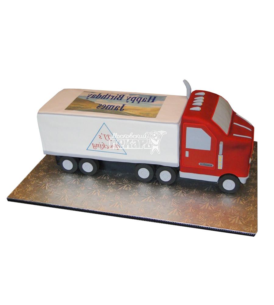 №2489 Торт грузовик