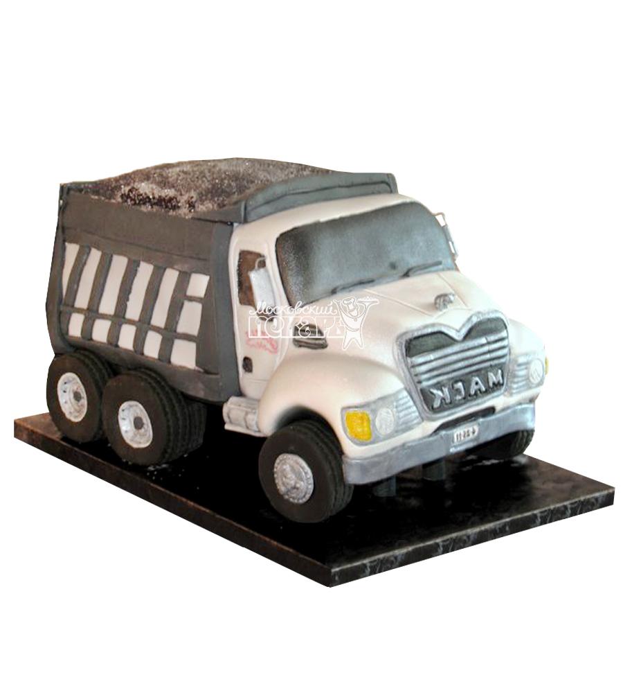 №2490 3D Торт грузовик