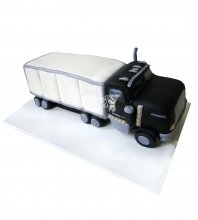 №2491 3D Торт грузовик