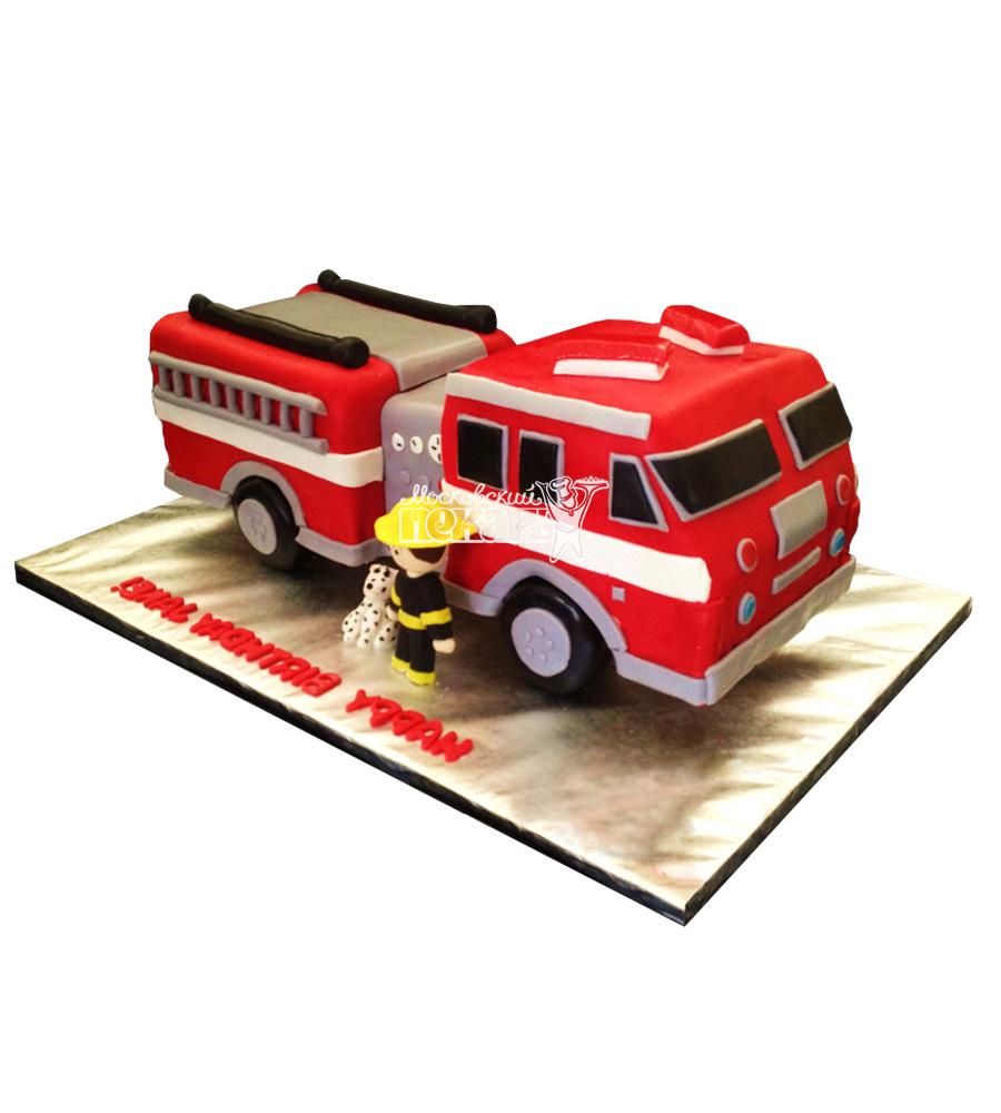 №2492 3D Торт грузовик