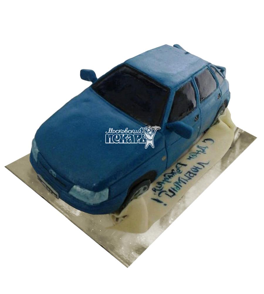 №2501 3D Торт Лада