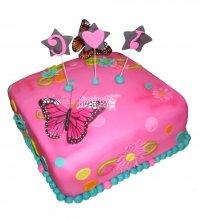 №2527 Торт бабочка