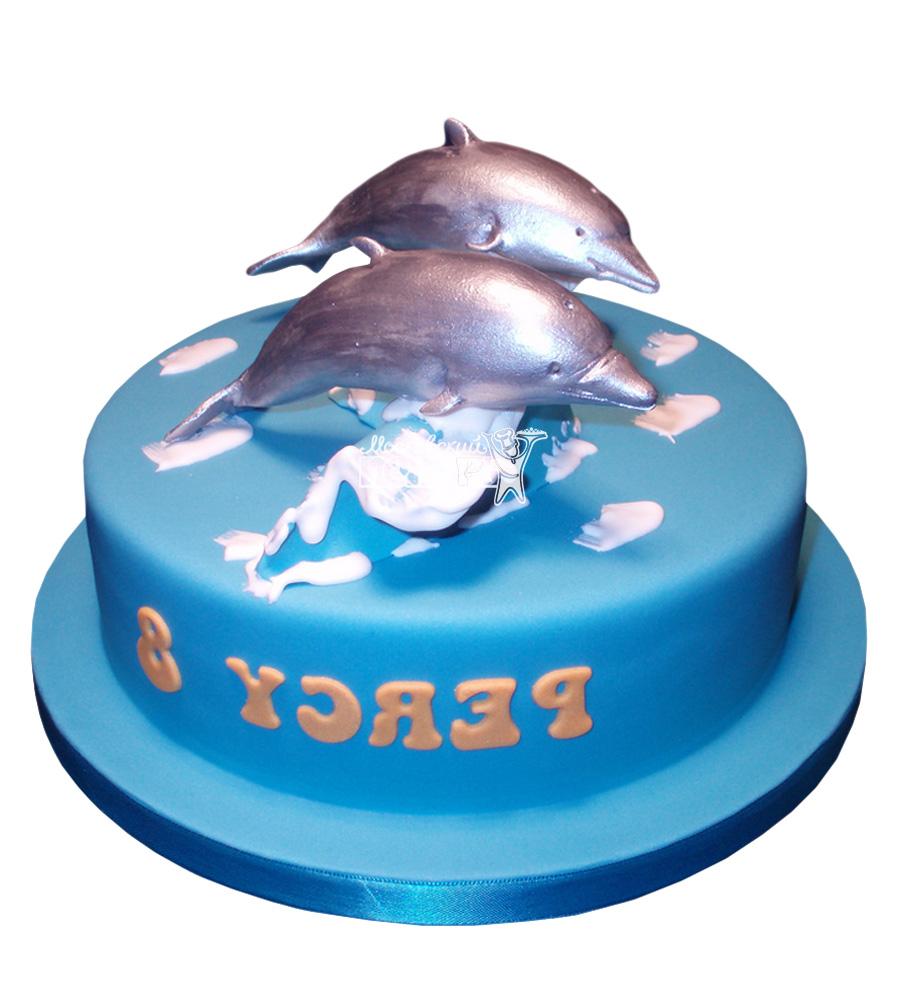 №2548 Торт дельфин