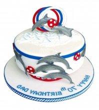 №2549 Торт дельфин