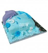 №2551 Торт дельфин