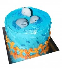 №2553 Торт дельфин