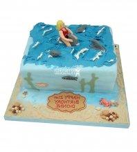 №2558 Торт дельфин