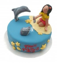 №2559 Торт дельфин