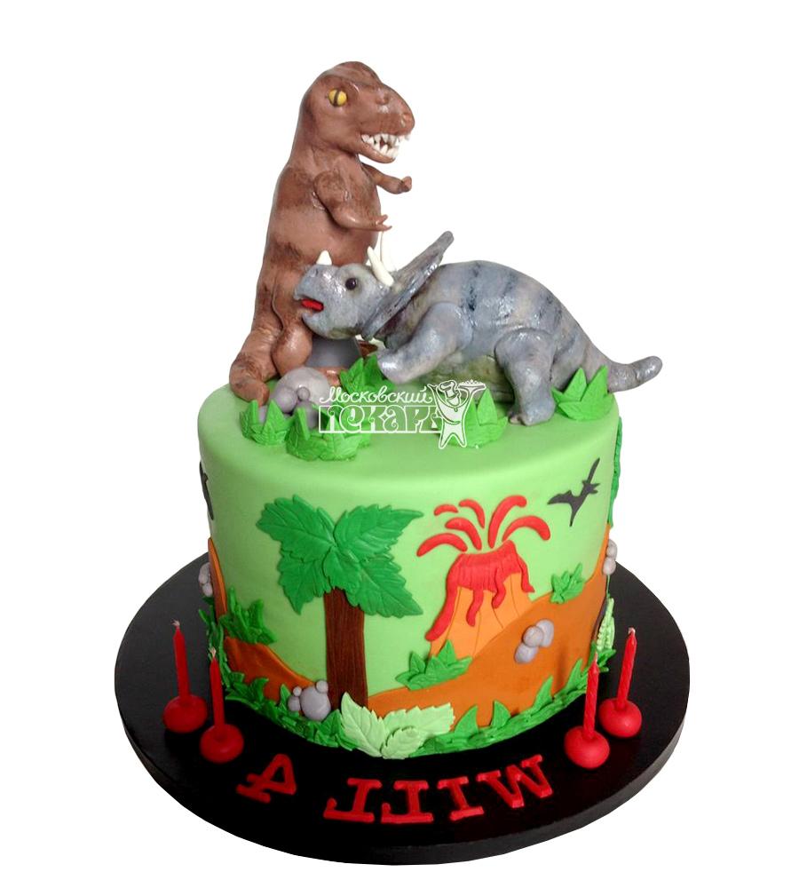 №2565 Торт Динозаврик