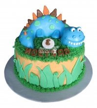 №2568 Торт Динозаврик