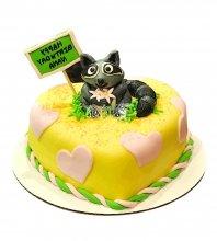 №2573 Торт енот