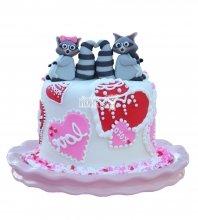 №2575 Торт енот