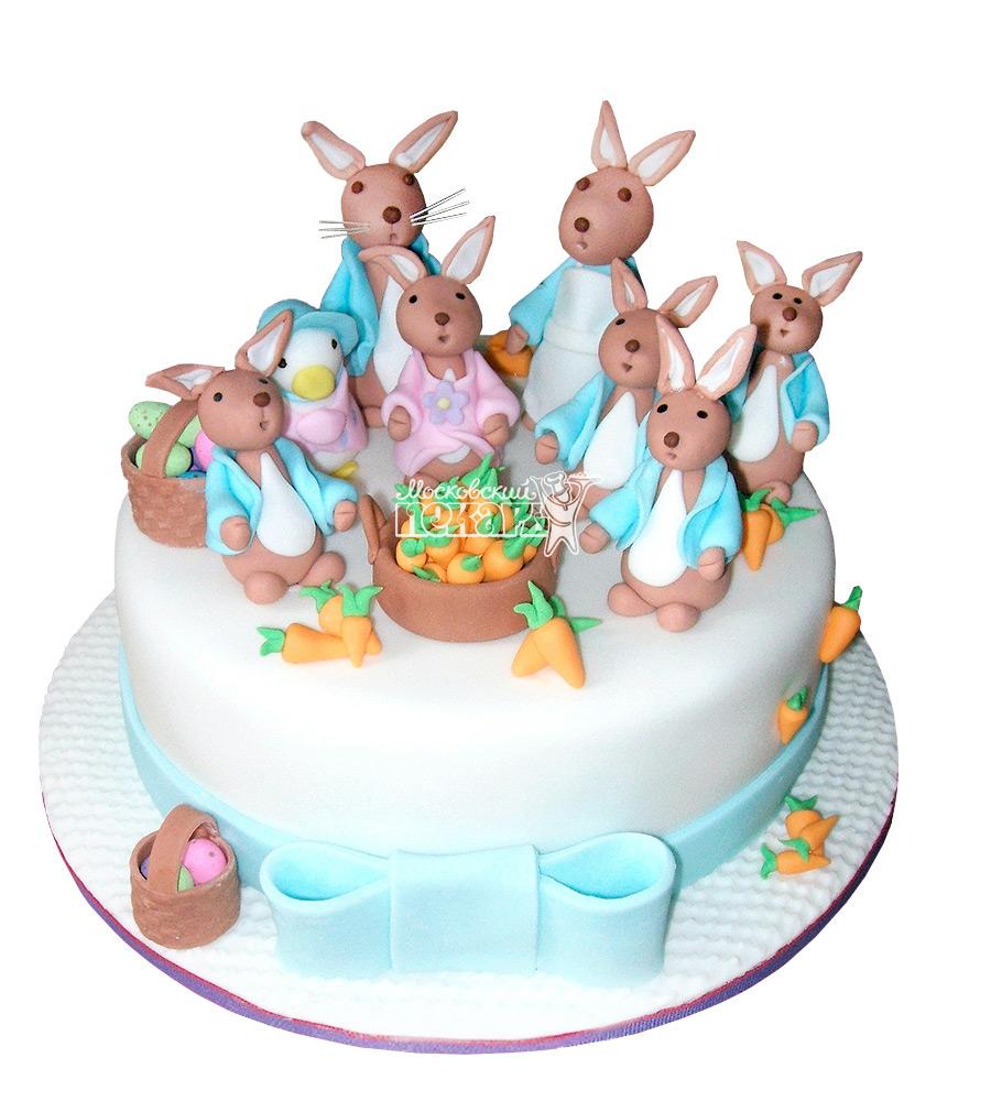 №2582 Торт зайчик
