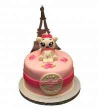 №2594 Торт кошка