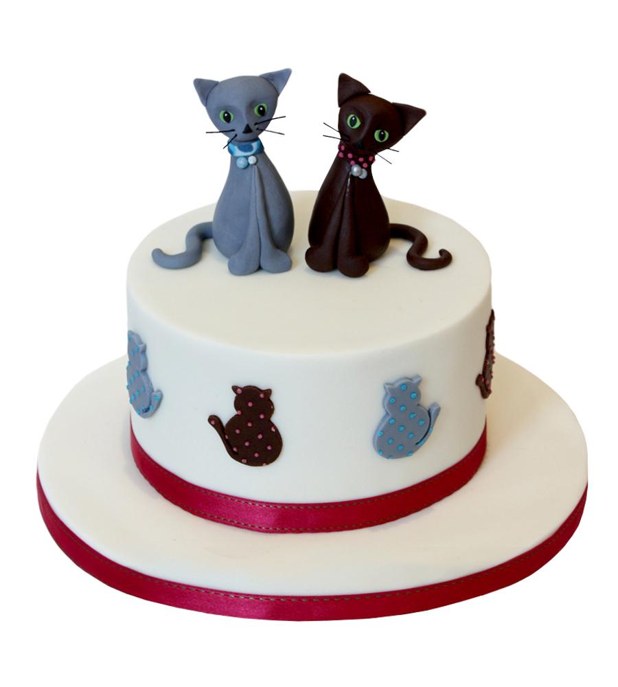 №2595 Торт кошки