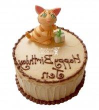 №2600 Торт кошка