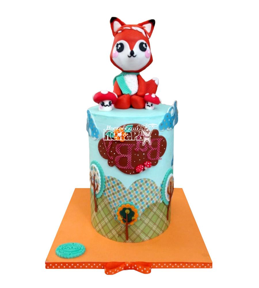 №2601 Торт лисенок