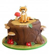 №2607 Торт лисенок