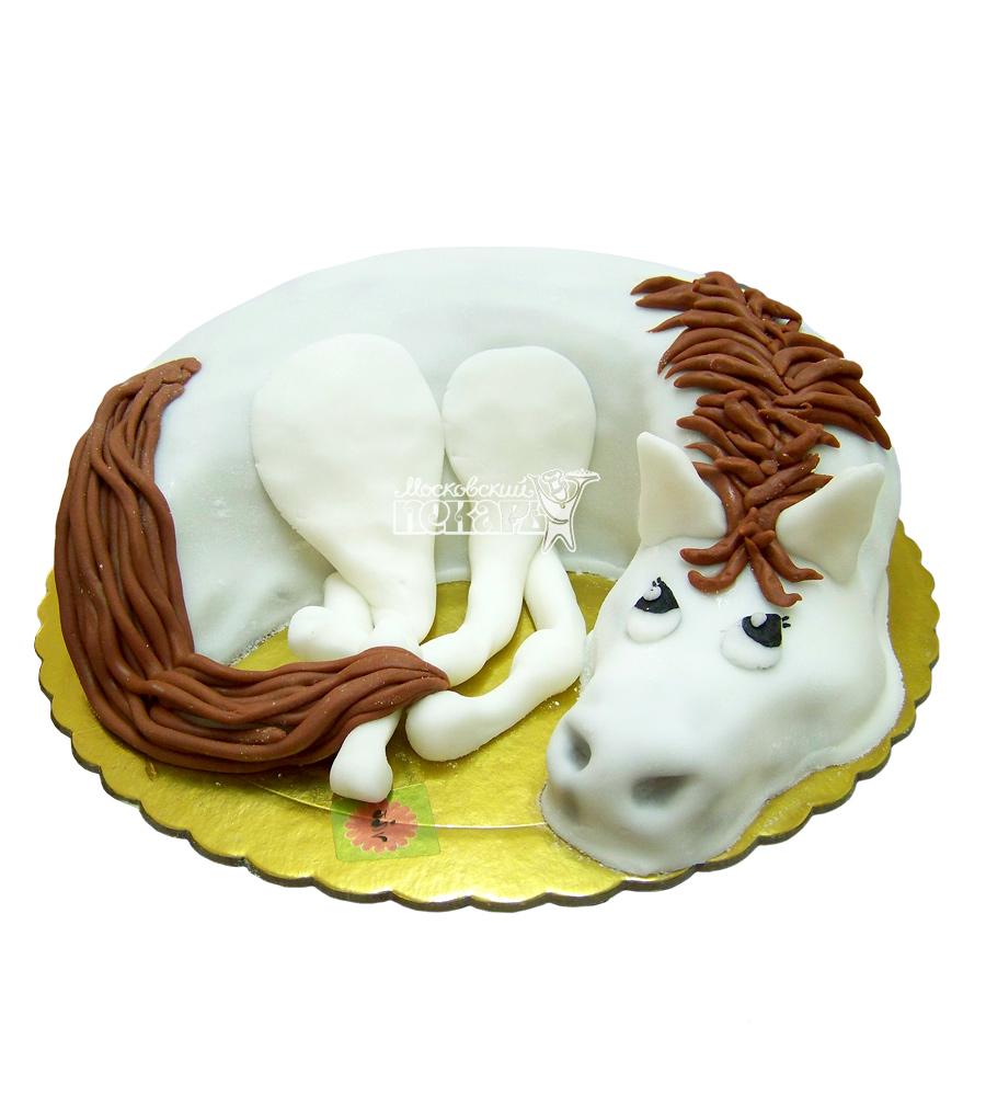 Как сделать торт в виде лошади фото