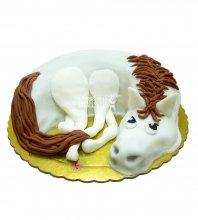 №2615 Торт лошадь