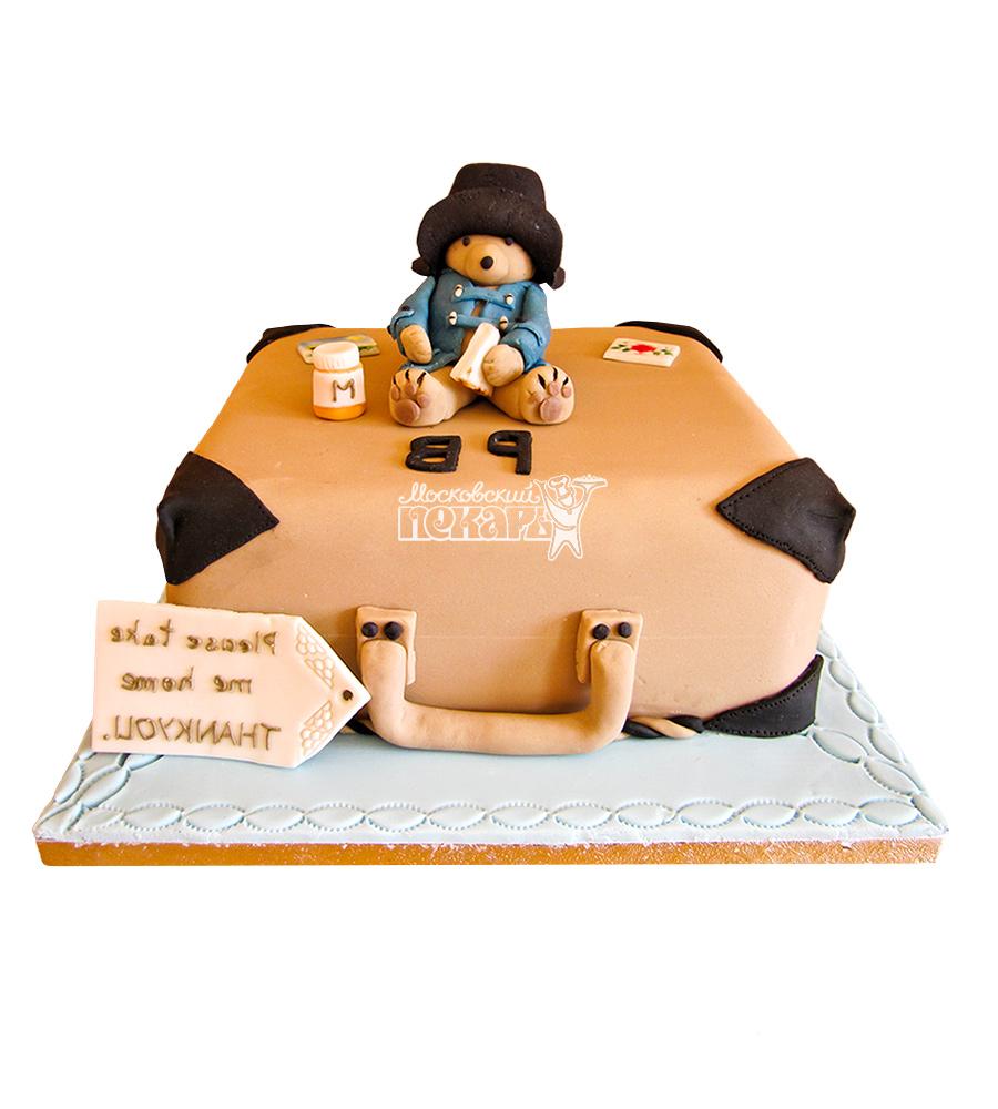 №2638 Торт мишка