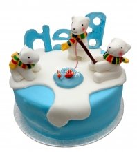 №2644 Торт мишка