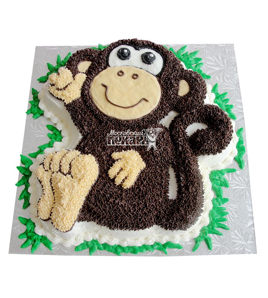 Форма для торта обезьянка
