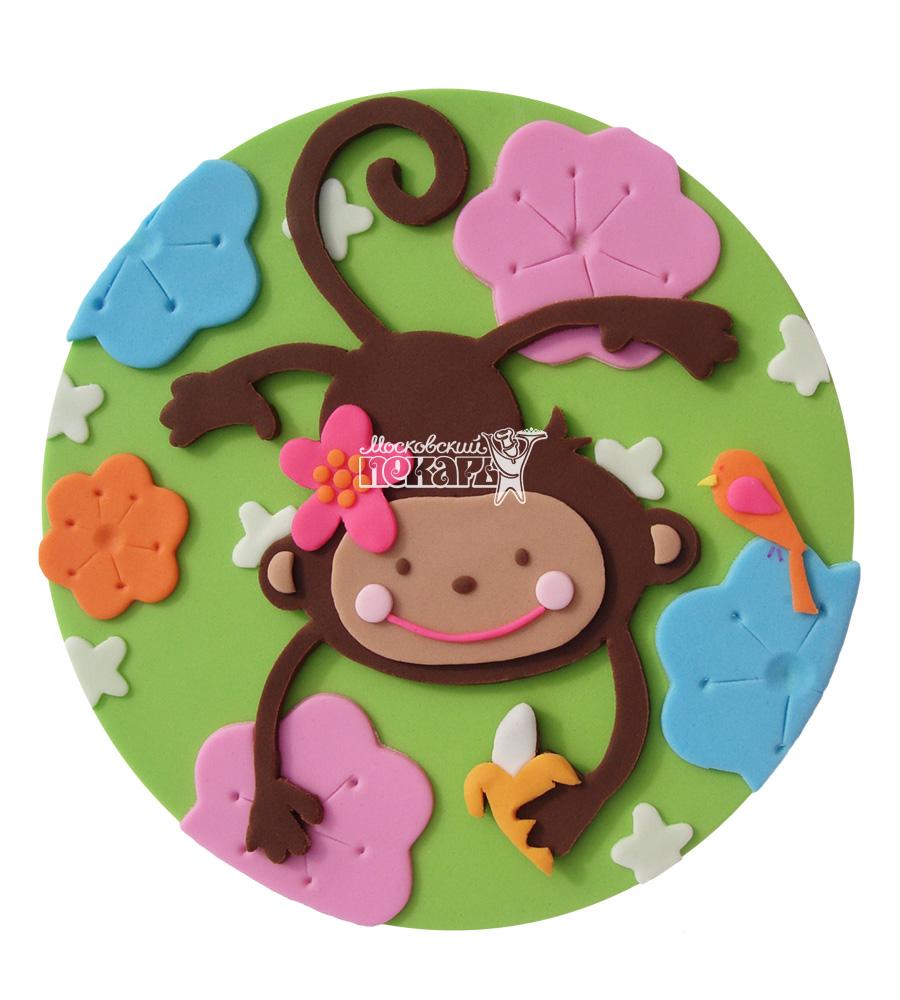 №2649 Торт обезьянка
