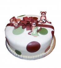 №2650 Торт обезьянки