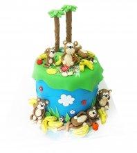 №2653 Торт обезьянки