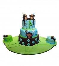 №2655 Торт обезьянки