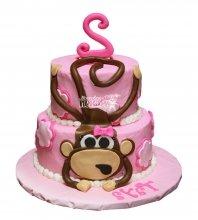 №2656 Торт обезьянка