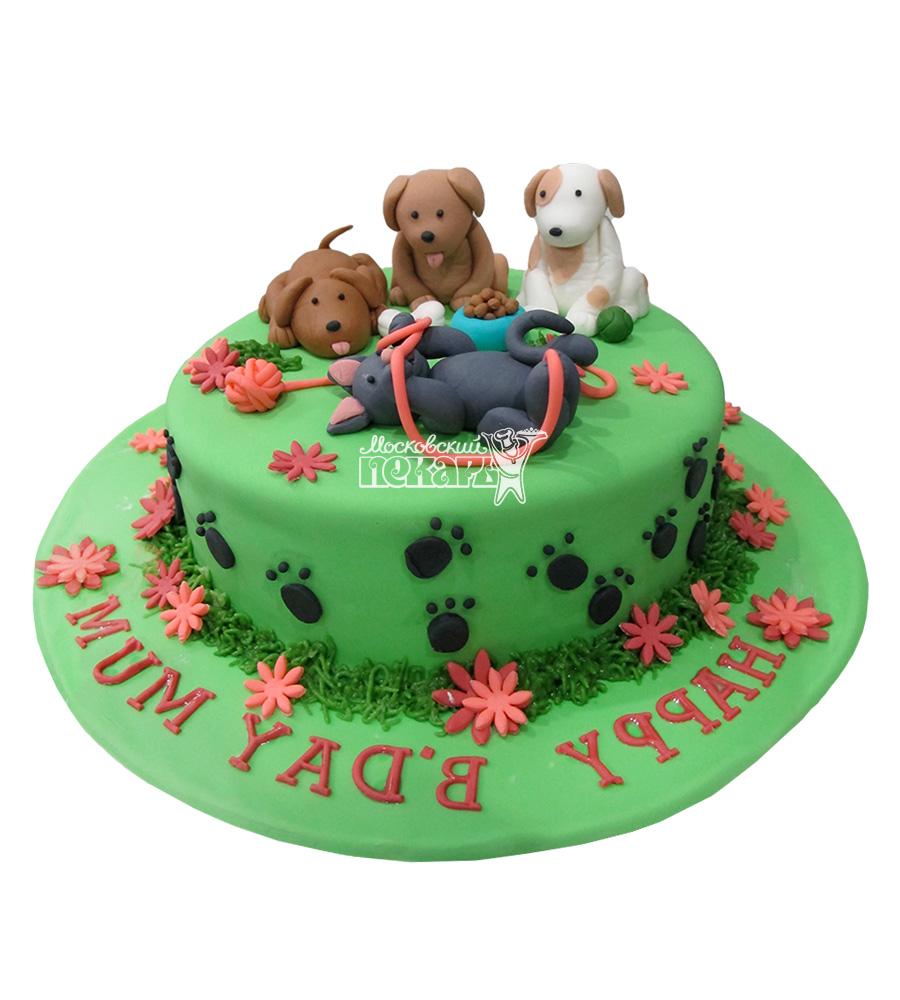 №2661 Торт собачки