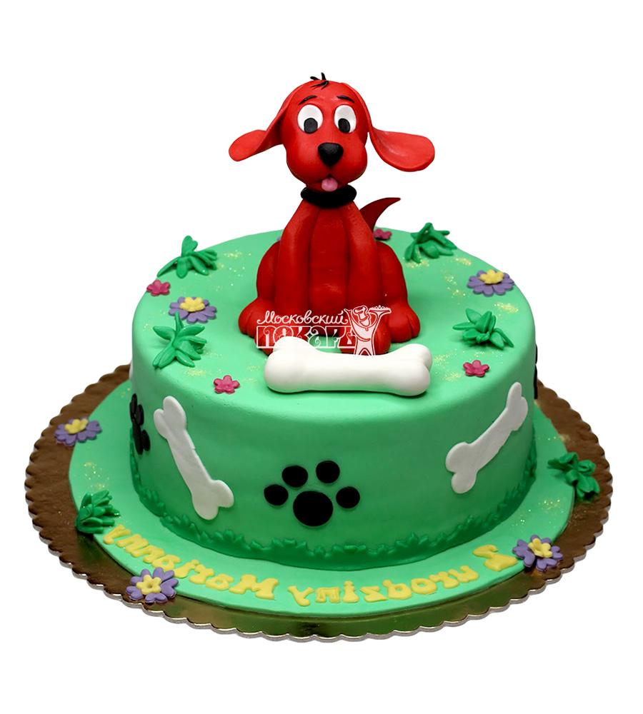 №2662 Торт собачка