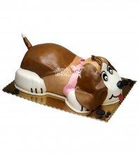 №2665 Торт собачка