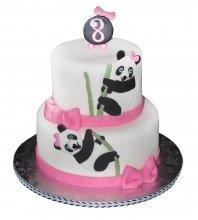 №2677 Торт панда