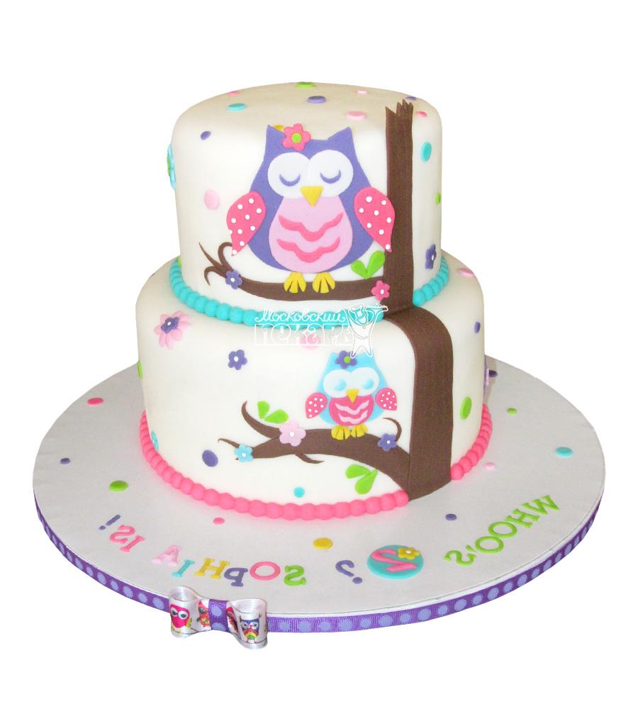 №2687 Торт сова