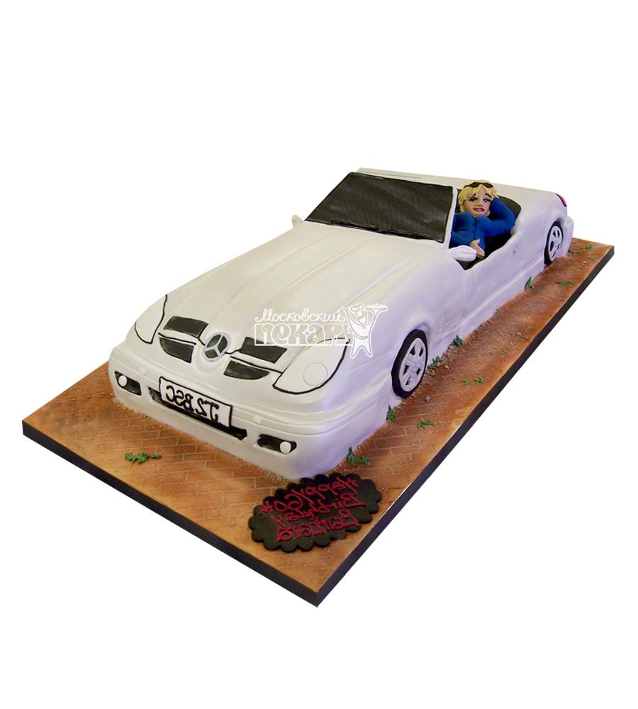 №2709 3D Торт Мерседес