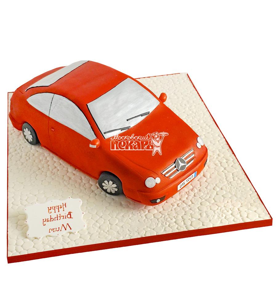 №2716 3D Торт Мерседес