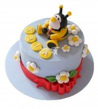 №2717 Торт пчелка
