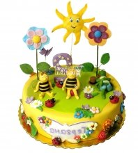 №2720 Торт пчелки