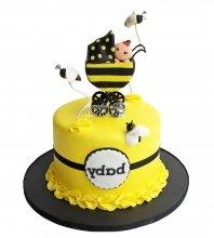 №2721 Торт с пчелками