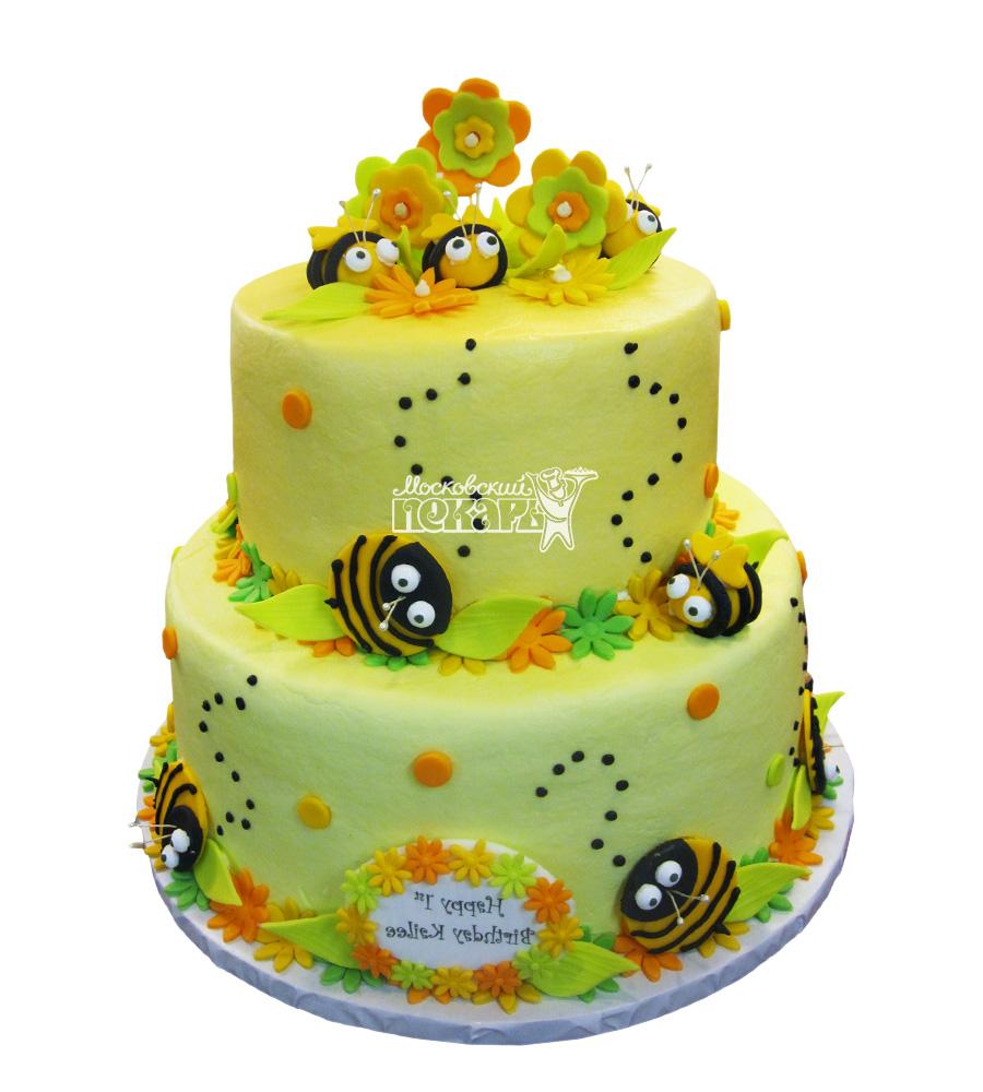 №2726 Торт пчелки