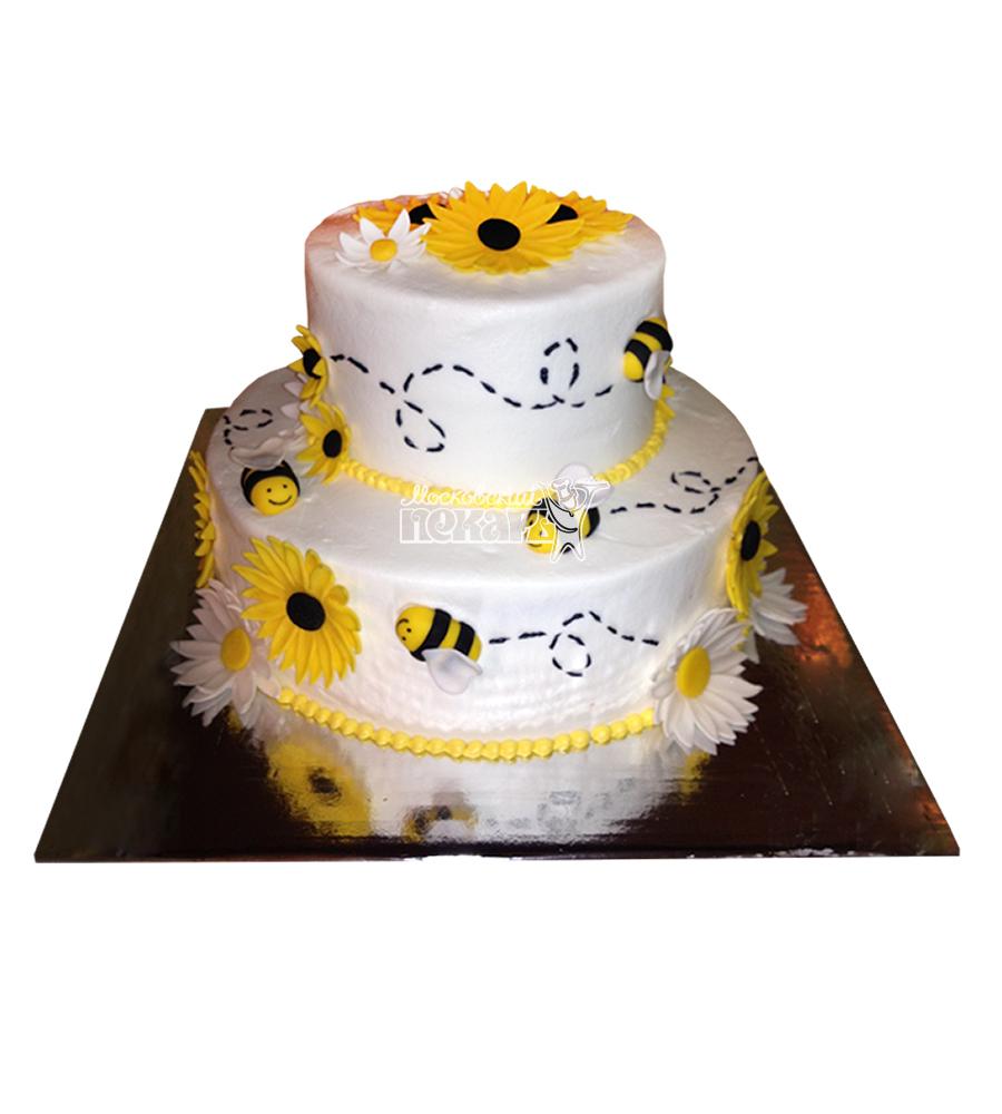 №2727 Торт пчелки