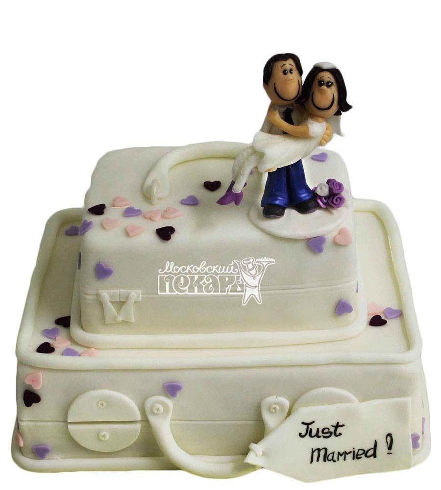 №2796 Свадебный торт чемодан