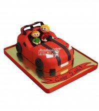 №2799 3D Торт машинка