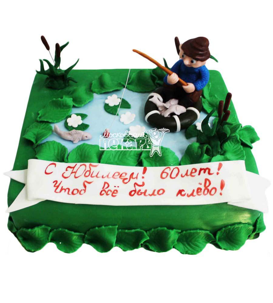 №2816 Торт рыбаку