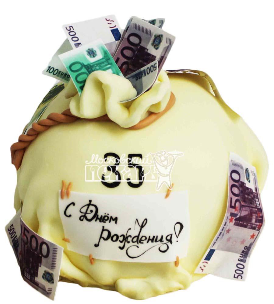 №2819 Торт мешок с деньгами