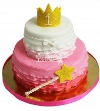 №2822 Торт с короной