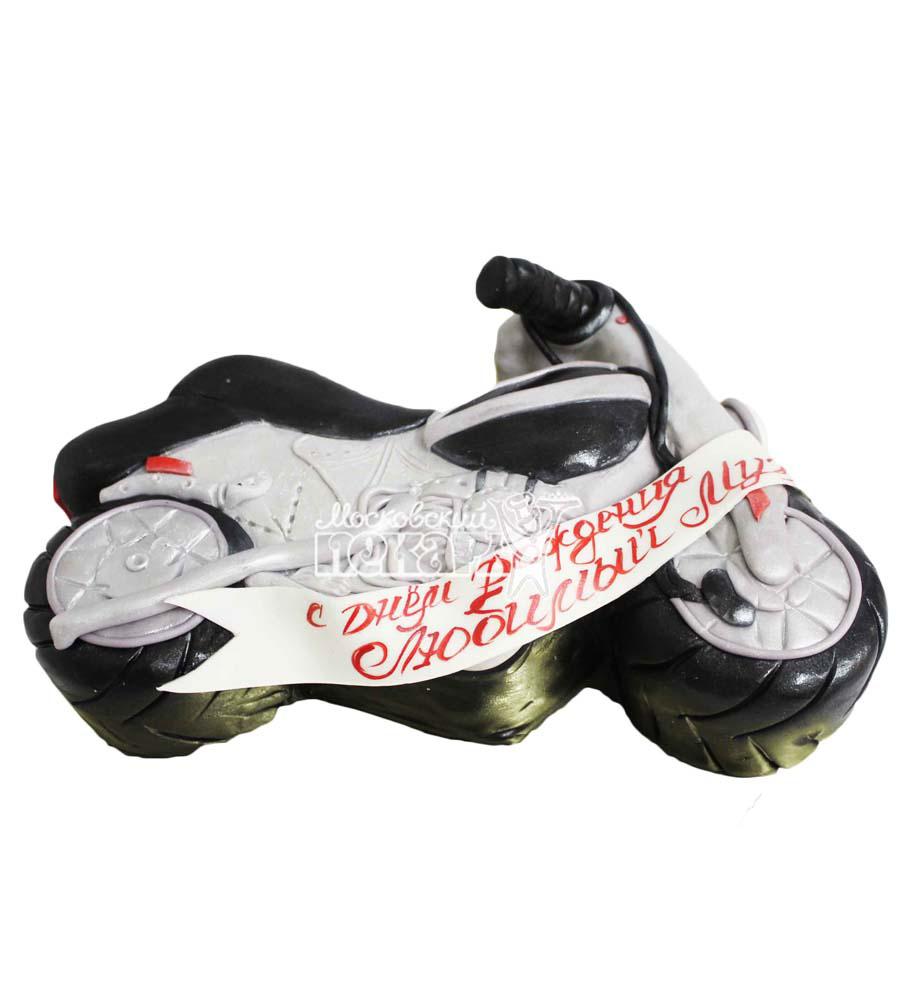 №2826 3D Торт мотоцикл